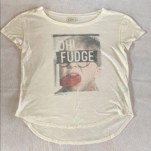Abercrombie oh fudge t shirt